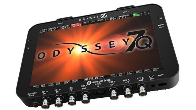 Enregistreur Convergent Design Odyssey 7Q